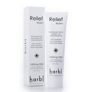 Pack& tube harbl relief warm gel